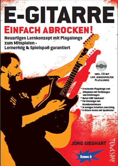 Rock-Gitarre-Playalongs mit Noten & TABs